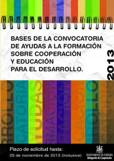 Convocatoria de Ayudas a la Formación 2012